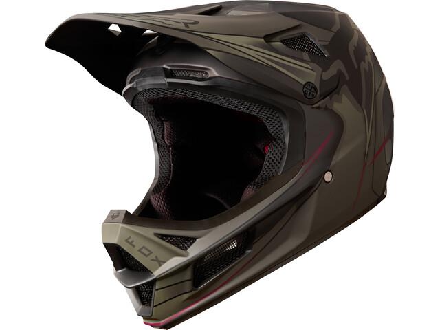 Fox Rampage Pro Carbon Kustom - Casco de bicicleta Hombre - negro Oliva bfa9ad1c0d0